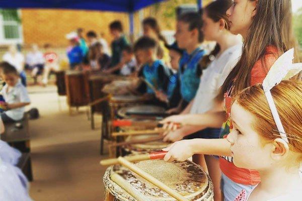 Weekly Kids Drum & Dance Classes